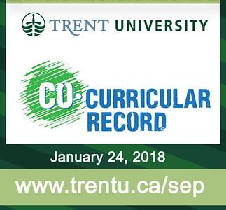 24-01-2018 ~  Trent U Co-Curricular Event
