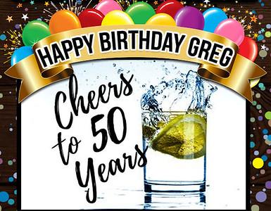 24-02-2018 ~ Greg's 50th Birthday