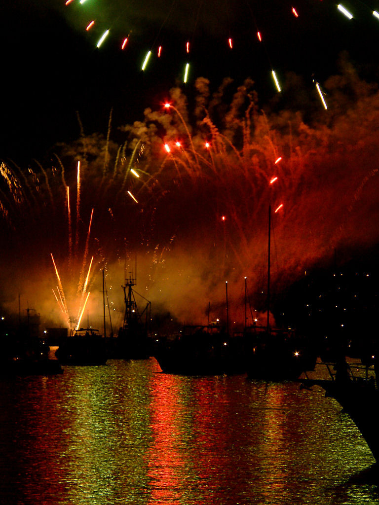 Vancouver's Celebration of Light fireworks competition - China's show.