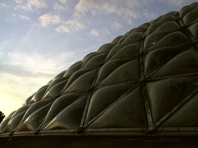 MacMillan Bloedel Conservatory at Sunset.