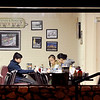 John P. Cleary | The Herald Bulletin<br /> A family stops in to have an early breakfast on this Wednesday morning at the Toast.