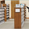 John P. Cleary | The Herald Bulletin<br /> It's a slow morning at the Anderson Public Library with only a few people browsing the racks like this man checking out the movie selection.