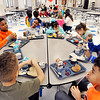John P. Cleary | The Herald Bulletin<br /> Nearly 600 students eat in the Anderson Elementary School cafeteia.