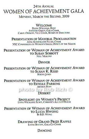 women of acheivement