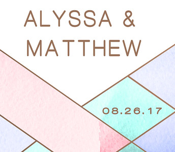 26-08-2017 ~ Alyssa and Matthew Wedding