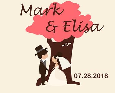 28-07-2018 ~ Elisa & Mark Wedding