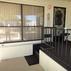 1-290 IS A FABULOUS LOCATION, EMPTY SPACE NEXT DOOR.<br /> HERE IS THE  ENTRANCE TO A LARGE FENCED PET PATIO.