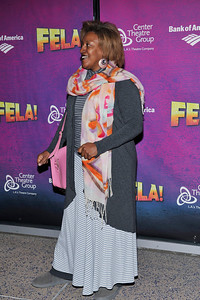 A special opening night carpet event of the 3 time award winning musical FELA at the Ahmanson  Theatre on December 14, 2011 in Los Angeles California. Valerie Goodloe