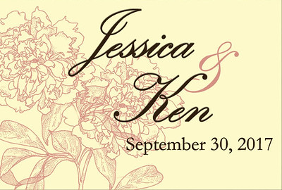 30-09-2017 ~ Jessica and Ken Wedding