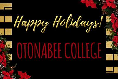 30-11-2017 ` Otonabee College Happy Holidays