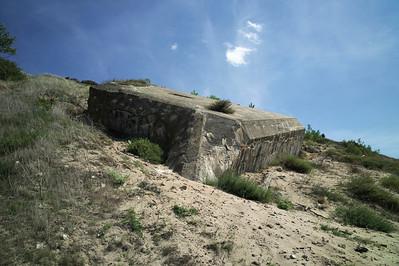 Durant la seconde guerre mondiale les Allemands ont construit des bunkers.