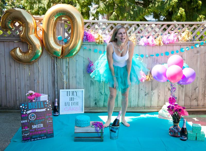 30th Bday Cake Smash