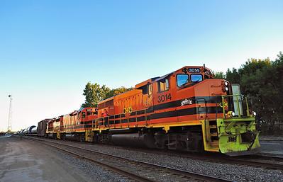 Quebec Gatineau, Wind Tower Train, Trois-Rivières Qc, September 26 2015.