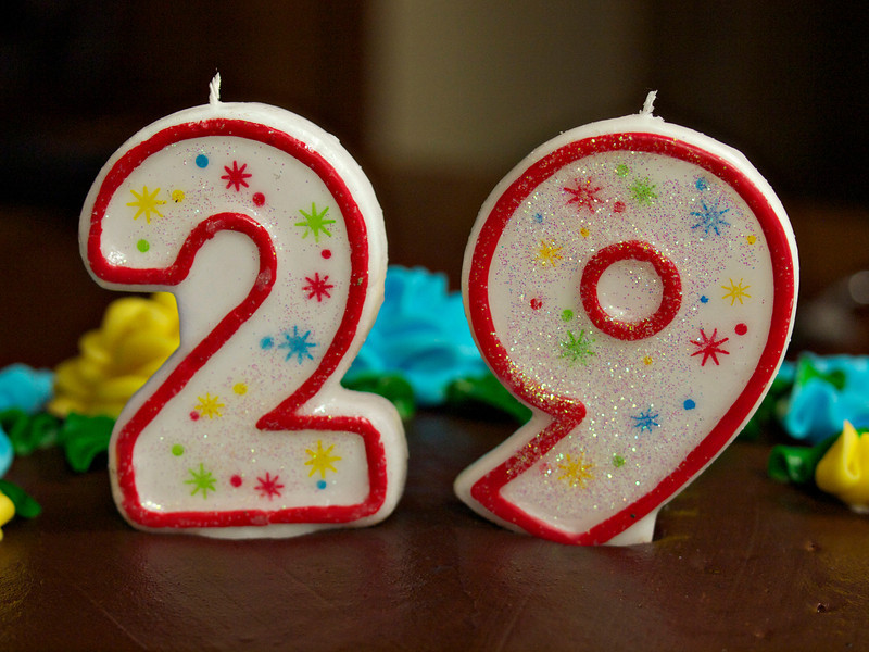 Day 1 of 365  My 29th Birthday