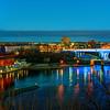 306/365-Twilight over the new 35W bridge