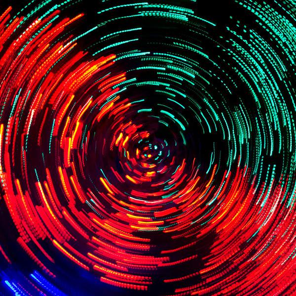 319/365-Swirl of holiday lights