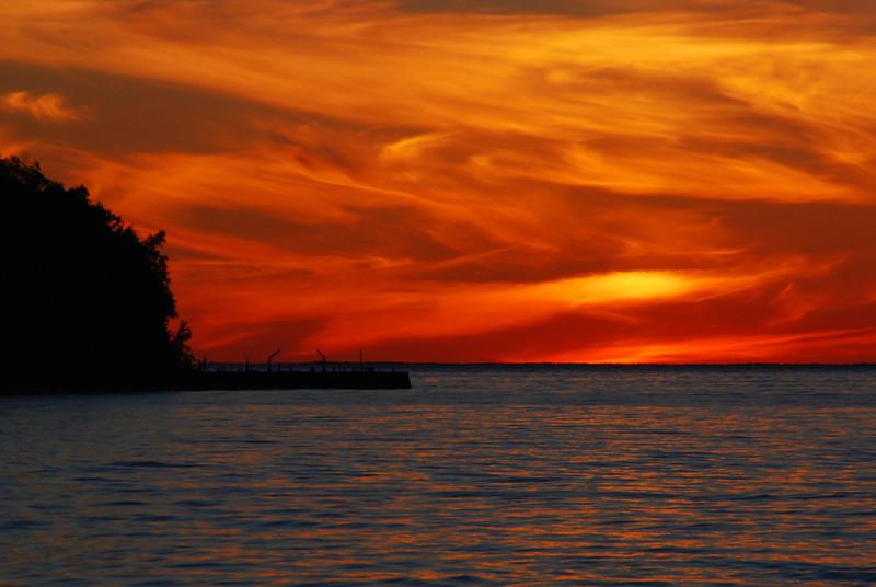 230/365-Sunset over Green Bay
