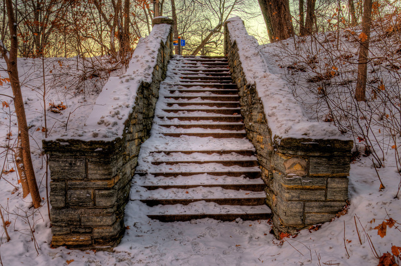 355/365-Snowtopped stone steps