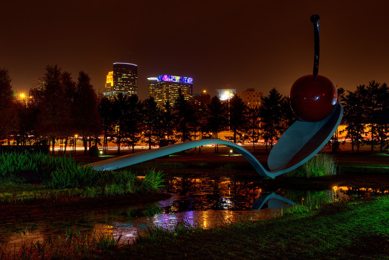 297/365-Spoon and Cherry-Night version