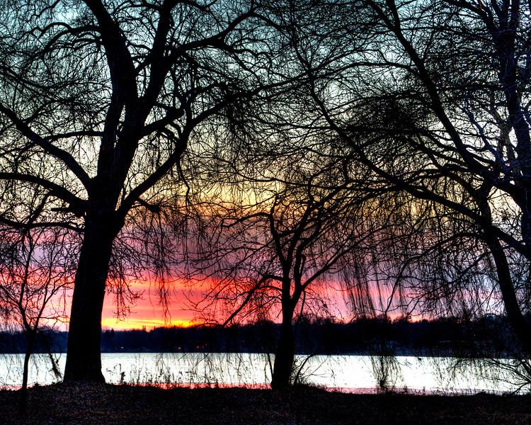 333/365-Sunset over Lake Nokomis