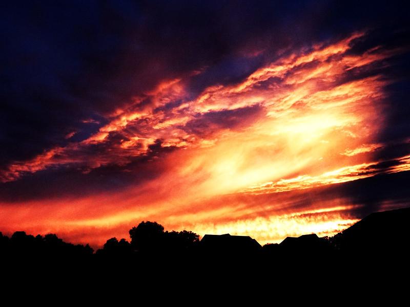 207/365  Summer sunset