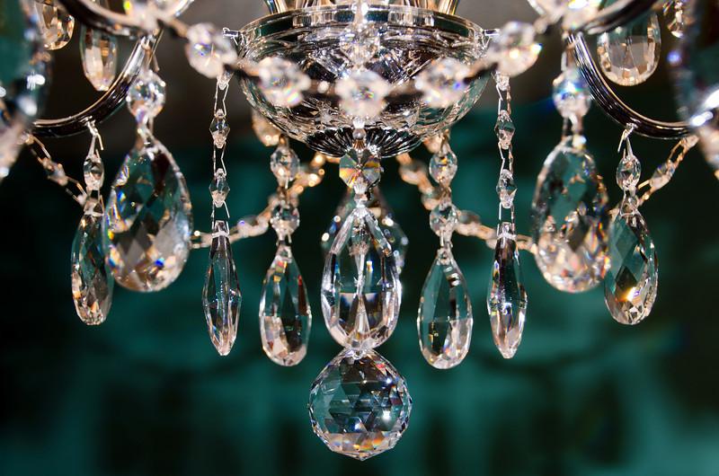 356/365-Crystal Chandelier