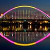 325/365-Bathed in color-The Lowry Avenue Bridge