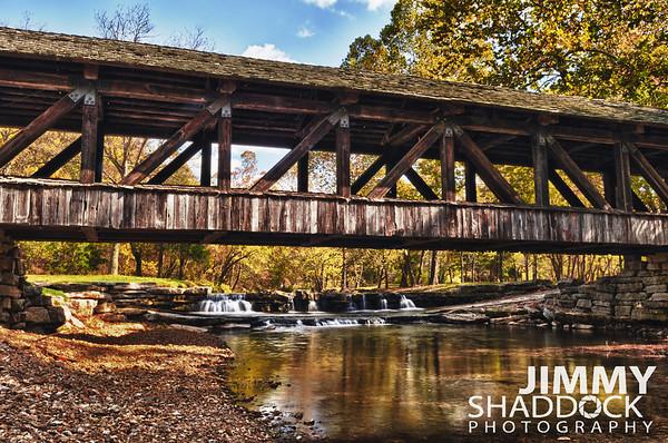Covered Bridge at Dogwood Canyon
