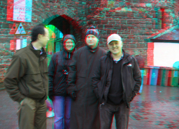 3D Castle Conwy, Oct. 2012