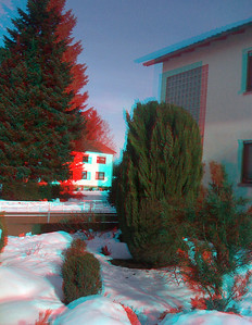 3D Stereo Anaglyph Iphone Photographs