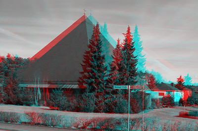 3D Stereo Anaglyph Photographs