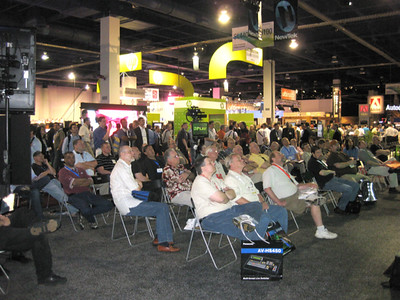 3PLAY at NAB....what a crowd