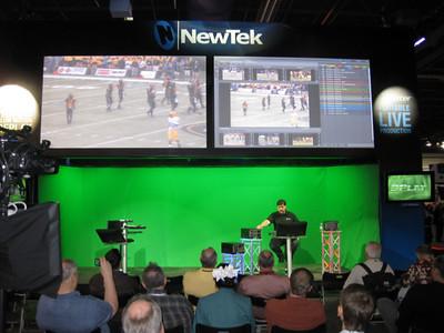 NewTek Don Ballance doing the demo