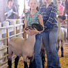 Don Knight/The Herald Bulletin<br /> 4-H Livestock Auction on Thursday.