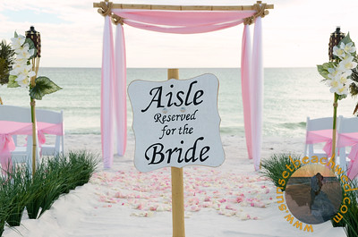 Light Pink & White Fabric, Light Pink Chair Sashes, Light Pink Rose Petals