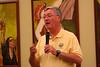 Fr. Tom Cassidy, provincial superior, welcomes participants.