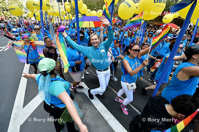 "San Francisco Pride Parade 2014 San Francisco Pride Parade 2014  The 2014 San Francisco Pride theme is, ""Color Our World with Pride"""