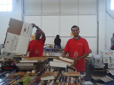 Oracle - 45th Big Book Sale Preparation