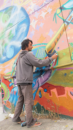 46th and Foothill Mural Restoration