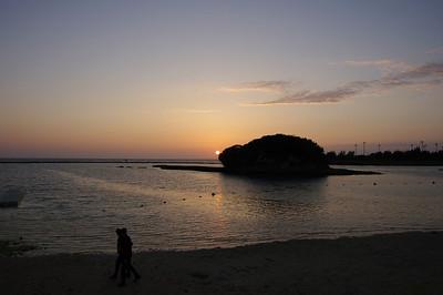 4/8/2011 - Sunset Kadena Marina