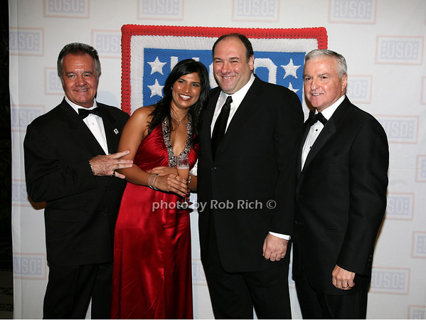 Tony Sirico, Lena J. Bansal, James Galdofini, Bruce Whitman<br /> photo by R.Cole for Rob Rich © 2009 robwayne1@aol.com 516-676-3939
