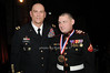 General Raymond T.Odierno, LCpl Matthew R. Bradford, Marine of the Year, recepient of the George Van Cleave Military Leadership Awards<br /> photo by Rob Rich © 2009 robwayne1@aol.com 516-676-3939