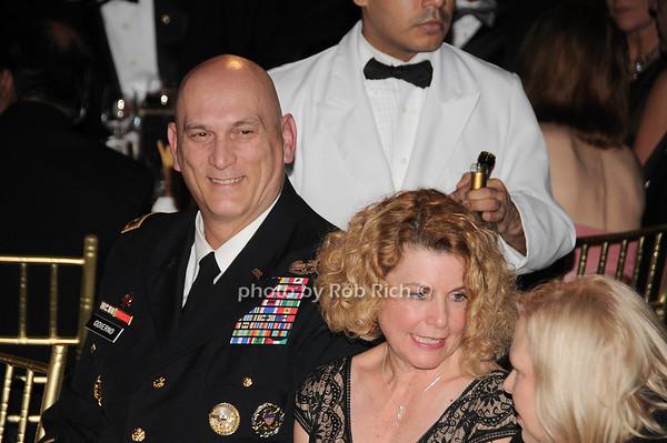 General Raymond T.Odierno, Linda Odierno<br /> photo by Rob Rich © 2009 robwayne1@aol.com 516-676-3939