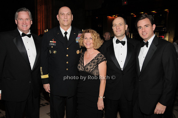 Rich Wilson, General Raymond T.Odierno Linda Odierno , Michael Anthony, Michael Whitting<br /> photo by Rob Rich © 2009 robwayne1@aol.com 516-676-3939