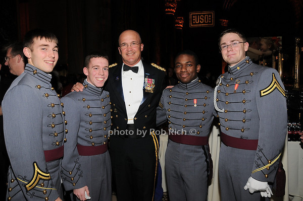 Peter Coppernoll, Jonathan Hudson, Maj. General Karl Horst, Brandon Tuell, Russ Burgin<br /> photo by Rob Rich © 2009 robwayne1@aol.com 516-676-3939