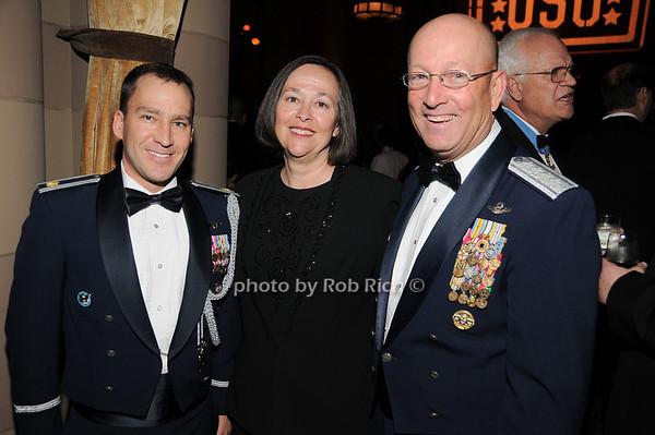 Mike Casey, Jill Renuart, General Gene Renuart<br /> photo by Rob Rich © 2009 robwayne1@aol.com 516-676-3939