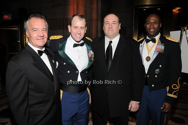 Tony Sirico, Harry Woodmansee, James Gandolfini, Omuso George <br /> photo by Rob Rich © 2009 robwayne1@aol.com 516-676-3939