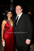 Lena J. Bansal, James Gandolfini<br /> photo by R.Cole for Rob Rich © 2009 robwayne1@aol.com 516-676-3939