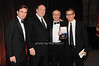 Brian Whitting, James Gandolfini, Steve Sheffer, Michael Lombardo (HBO) honoree<br /> photo by Rob Rich © 2009 robwayne1@aol.com 516-676-3939