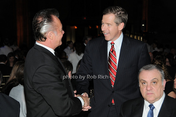 Tony Sirico, Brian Williams, Vince Curatola<br /> photo by Rob Rich © 2009 robwayne1@aol.com 516-676-3939